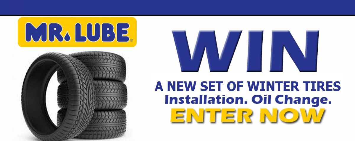 Win Winter Tires From Mr. Lube